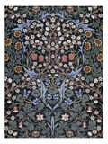 Blackthorn, Wallpaper Premium Giclee Print by William Morris