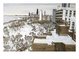 Chicago's Lincoln Park Premium Giclee Print by Mark McMahon