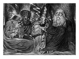 Job's Complaint Giclee Print by William Blake