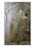 The Rendez-Vous Giclee Print by Carlos Schwabe