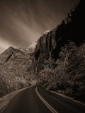 A Road in Zion National Park Photographic Print