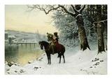 A Christmas Trumpet Call Giclee Print by Robert Assmus