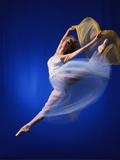 Ballerina Dancing Fotodruck von Dennis Degnan