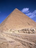 Great Pyramid of Giza Photographic Print by Hisham Ibrahim