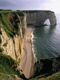 Les Falaises Cliffs Photographic Print by Christophe Boisvieux