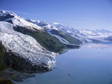Glaciers in College Fjord Photographic Print by Greg Probst