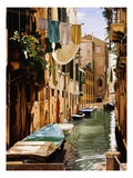 Venice Canal Giclee Print by Reynard Milici