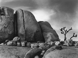 Desert Boulders Photographic Print by Brett Weston