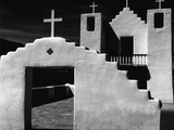 Adobe Church Photographic Print by Brett Weston