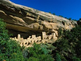 Cliff Palace at Mesa Verde Fotografie-Druck von Mark Karrass