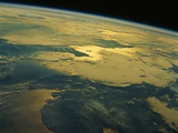 English Channel from Space Photographic Print