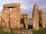 Stonehenge Photographic Print by John Heseltine