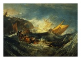 Shipwreck of the Minotaur Giclee Print by J. M. W. Turner