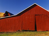 Red Barns Photographic Print by Stuart Westmorland