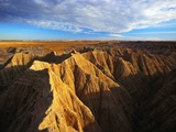 Badland Rock Formations Photographic Print by Randy Wells