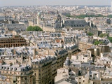 Paris as Seen from Notre Dame Photographic Print by Louie Psihoyos