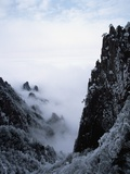 Winter in Huangshan Mountains Photographic Print by John Slater