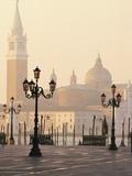 Island of San Giorgio Maggiore Fotografisk tryk af William Manning
