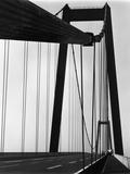 Suspension Bridge, California Photographic Print by Brett Weston