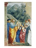 Saint Peter Preaching Premium Giclee Print by Masolino Da Panicale