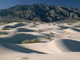 Mountains and Dunes in Death Valley Photographic Print
