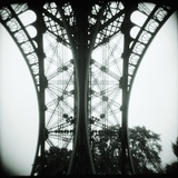 Detail of Eiffel Tower Photographic Print by Kurt Stier
