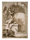 The Beheading of Saint John the Baptist Giclee Print by Lorenzo Baldiserra Tiepolo
