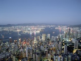 Hong Kong and Kowloon Photographic Print by James Marshall