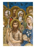 Detail of Saints and Martyrs from Maesta Giclee Print by Simone Martini