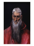Detail of St. Jerome Giclee Print by  El Greco