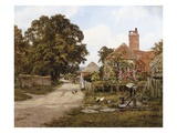 A Summer's Day Giclee Print by Edward Wilkins Waite
