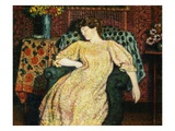 La belle endormie Reproduction proc&#233;d&#233; gicl&#233;e par Georges Lemmen