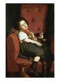 Asleep Giclee Print by Auguste L'orange