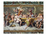 Wedding of Cupid and Psyche Giclee Print by Raphael