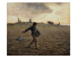 The Sower Giclee Print by Jean-Francois Millet