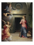 Annunciation Giclee Print by Giovanni Bizzelli