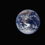 Full Earth Seen from Space Photographic Print