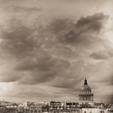 Overcast Sky and Pantheon Dome Photographic Print by Ariel Ruiz I Altaba