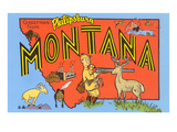 Greetings from Philipsburg, Montana Prints