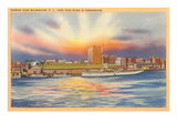 Sunrise over Wilmington, North Carolina Prints