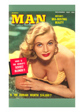 Men's Pulp Magazine Cover Posters
