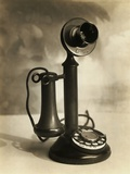 Candlestick Telephone Photographic Print