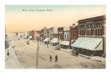 Main Street, Kalispell, Montana Prints