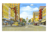 Fayetteville Street, Raleigh, North Carolina Print