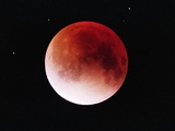 Lunar Eclipse Photographic Print by Roger Ressmeyer