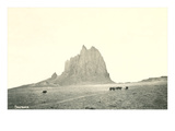 Shiprock Geological Formation, New Mexico Prints
