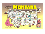 Greetings from Montana Prints