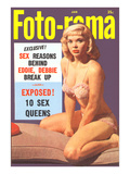 Men's Pulp Magazine Cover Print