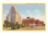 Hôtel Chase Park Plaza, Saint- Louis, Missouri Affiches