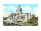 State Capitol, Jefferson City, Missouri Prints